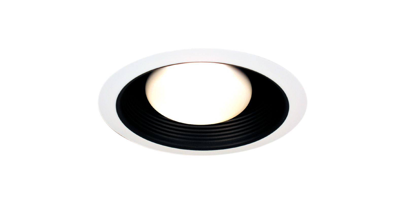 Thomas Lighting TRB30 Recessed Lighting Baffle Trim Black Recessed