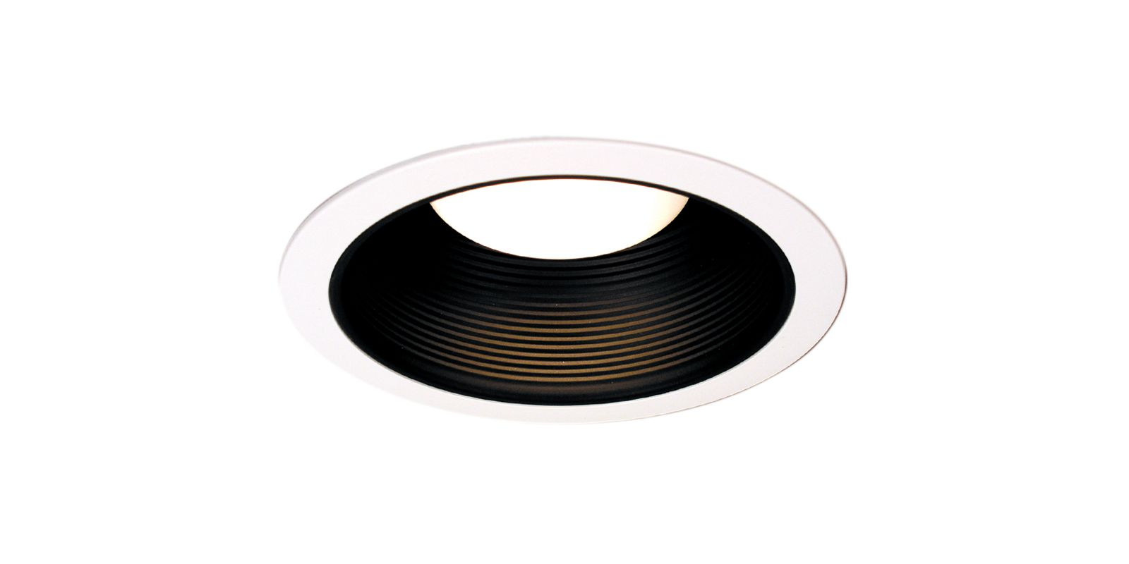 "Thomas Lighting TRM30 6"" Recessed Lighting Stepped Baffle Trim for IC"