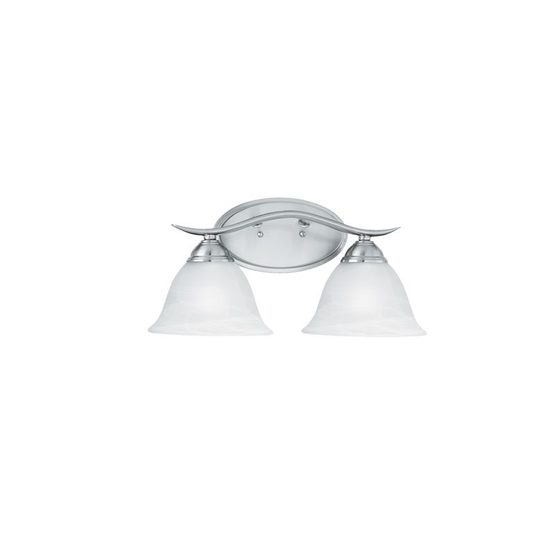 "Thomas Lighting SL7482 2 Light 17"" Wide Bathroom Fixture from the"