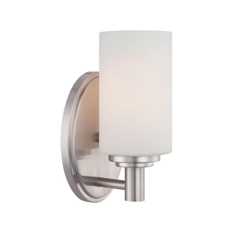 "Thomas Lighting 1900232 Pittman 9"" Tall Single Light Bathroom Wall"