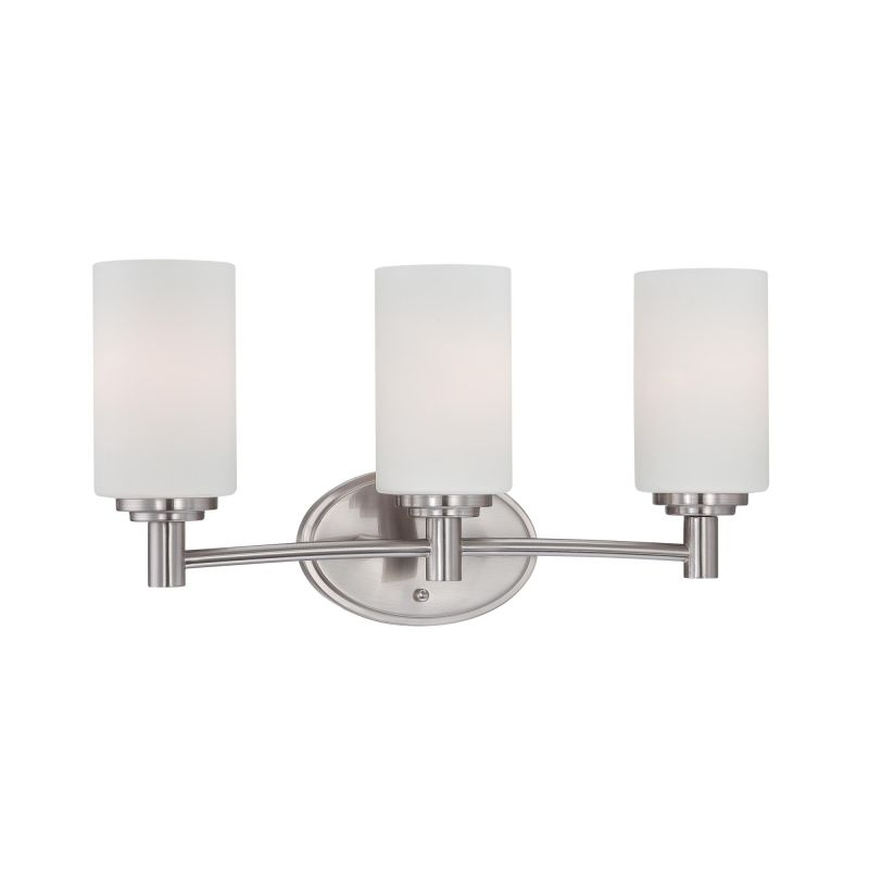 Thomas Lighting 190024 3 Light Bathroom Fixture from the Pittman