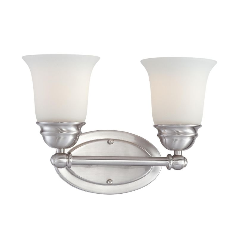 Thomas Lighting SL7142 2 Light Bathroom Fixture from the Bella