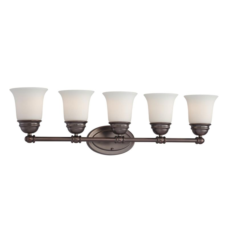 Thomas Lighting SL7145 5 Light Bathroom Fixture from the Bella