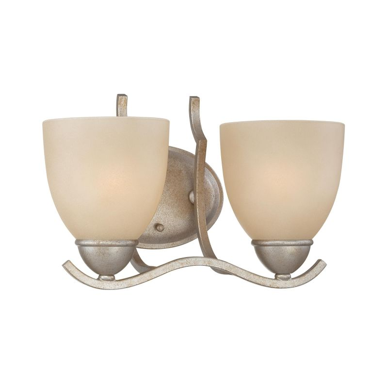 Thomas Lighting SL7172 2 Light Bathroom Fixture from the Triton