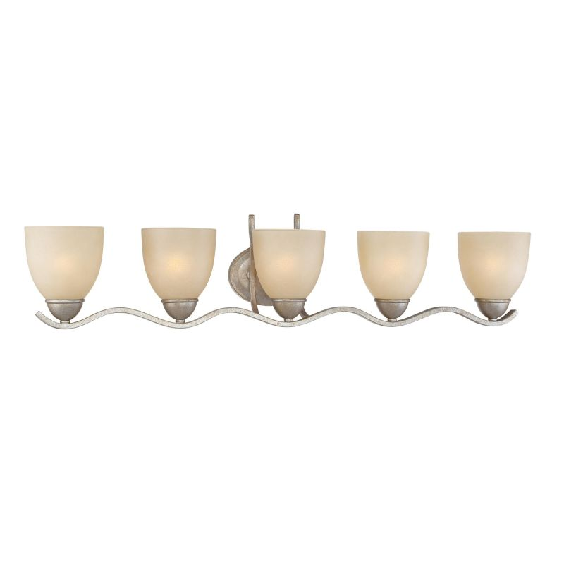 Thomas Lighting SL7175 5 Light Bathroom Fixture from the Triton