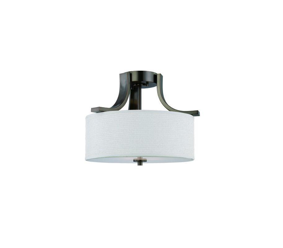Thomas Lighting SL8609 2 Light Semi-Flushmount Ceiling Fixture with