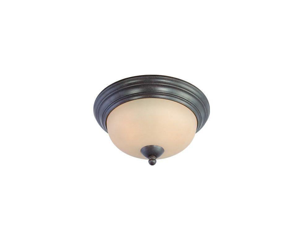 Thomas Lighting SL8615 2 Light Flushmount Ceiling Fixture with Round