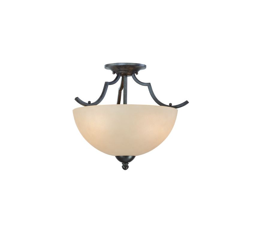 Thomas Lighting SL8616 2 Light Semi-Flushmount Ceiling Fixture with