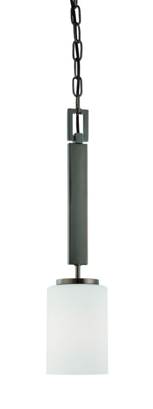 Thomas Lighting SL8910 1 Light Down Light Pendant with Cylinder Shaped