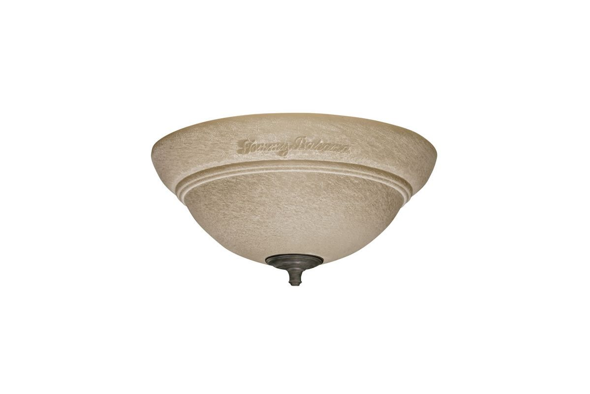 Tommy Bahama TB735AMM Amber Mist Bowl Light Fixture from the Trella