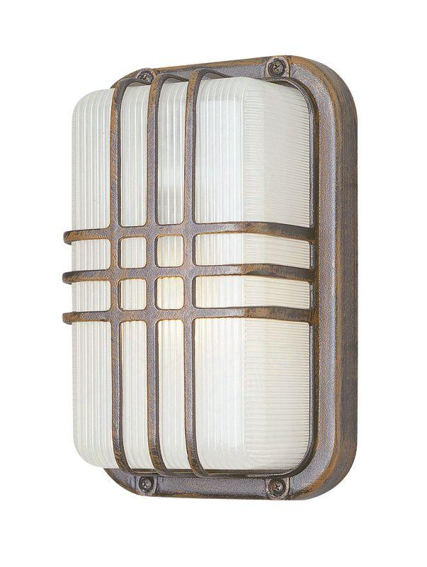 Trans Globe Lighting 41104 Single Light Outdoor Bulk Head from the