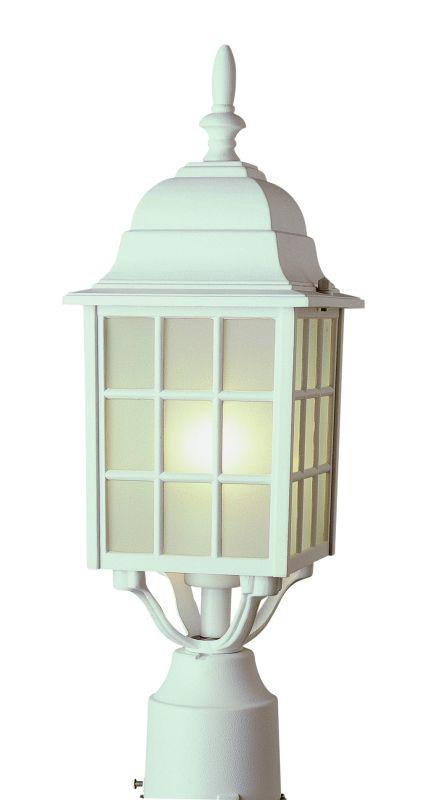 Trans Globe Lighting 4421 Single Light Up Lighting Square Outdoor Post
