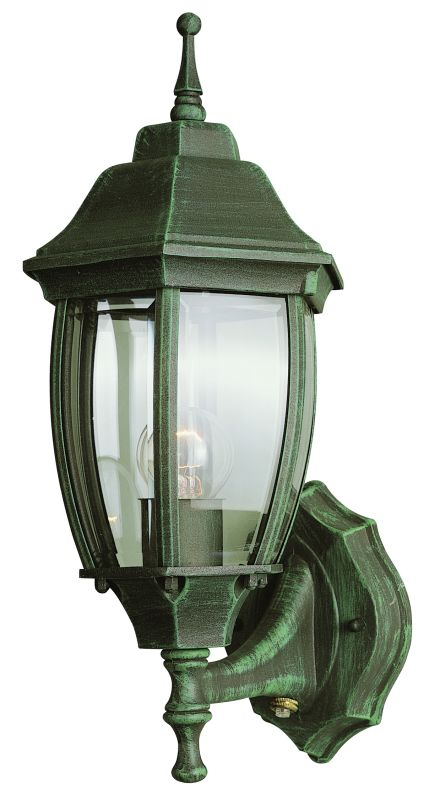 Trans Globe Lighting 4470 Bk Black Single Light Up Lighting Outdoor Photocell Wall Sconce From
