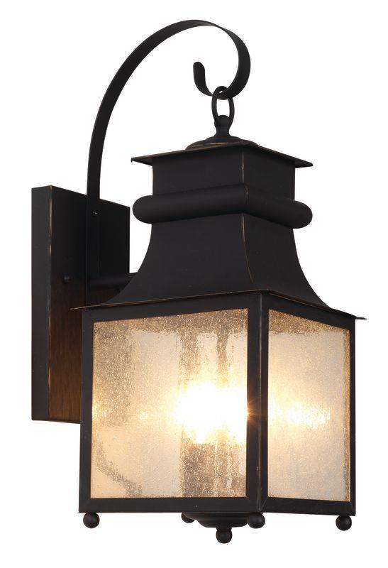 Trans Globe Lighting 45631 WB Weather Bronze Two Light