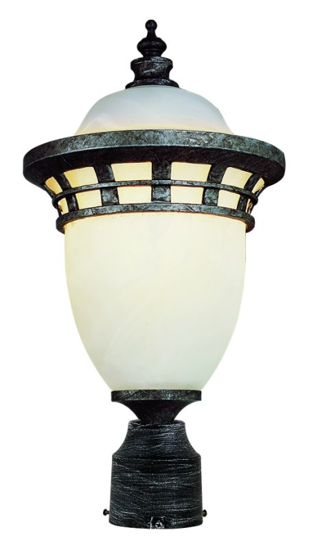 Trans Globe Lighting 5112-INC Single Light Outdoor Post Light Antique