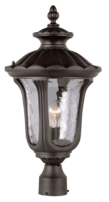 Trans Globe Lighting 5913 Single Light Outdoor Post Light from the New Sale $207.10 ITEM: bci1229338 ID#:5913 BK UPC: 736916546058 :