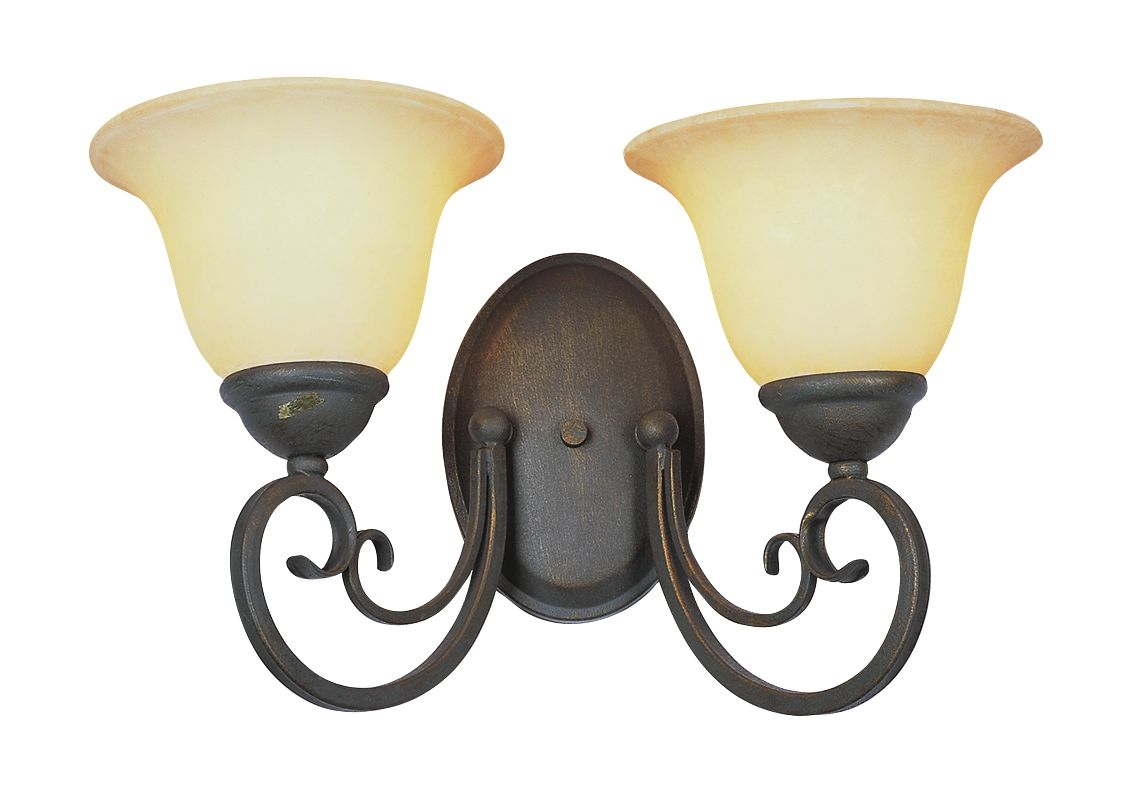 Trans Globe Lighting 6522 Two Light Up Lighting Wall Sconce from the