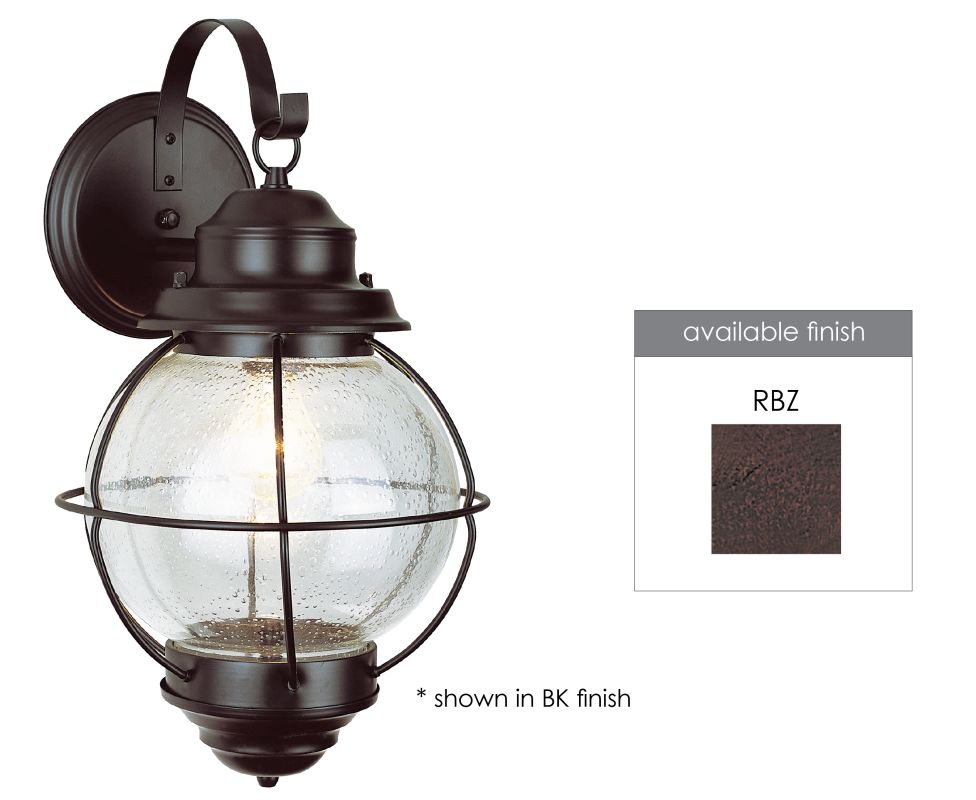 Trans Globe Lighting 69900 Modern Single Light Small Outdoor Wall