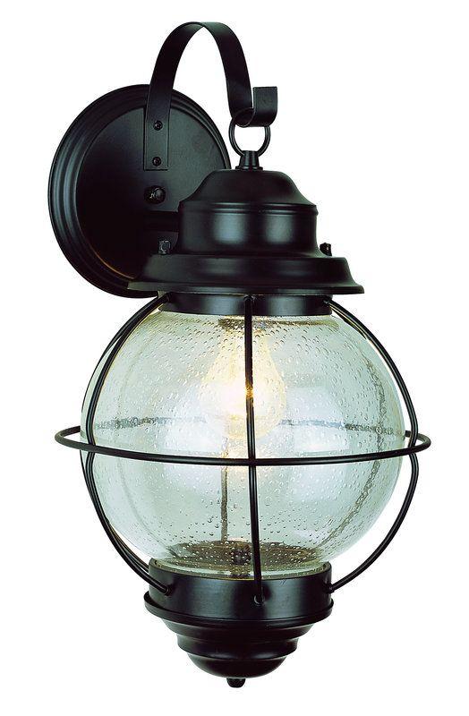 Trans Globe Lighting 69901 Modern Single Light Medium Outdoor Wall