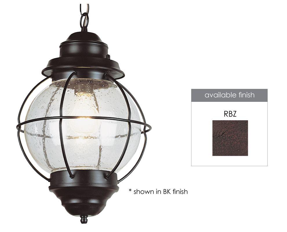 Trans Globe Lighting 69903 RBZ Rustic Bronze Single Light