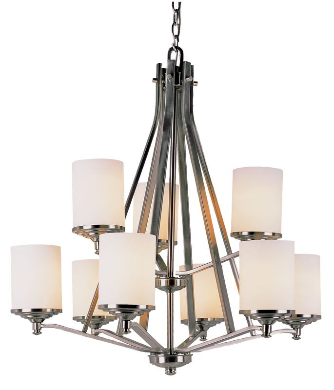 Trans Globe Lighting 7929 9 Light Two Tier Chandelier from the Young