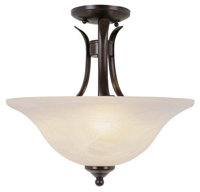 """Trans Globe Lighting 9286 2 Light Down Lighting Semi Flush Ceiling Sale $131.10 ITEM: bci723567 ID#:9286 ROB UPC: 736916200615 Product Features: Finish: Brushed Nickel , Light Direction: Down Lighting , Width: 15"""" , Height: 16"""" , Genre: Traditional , Bulb Type: Compact Fluorescent, Incandescent , Number of Bulbs: 2 , Fully covered under Trans Globe Lighting warranty , Location Rating: Indoor Use :"""