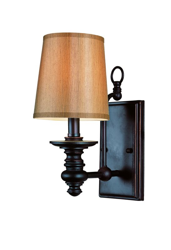 Trans Globe Lighting 9621 Rubbed Oil Bronze Single Light Up Lighting Wall Sconce from the Modern ...
