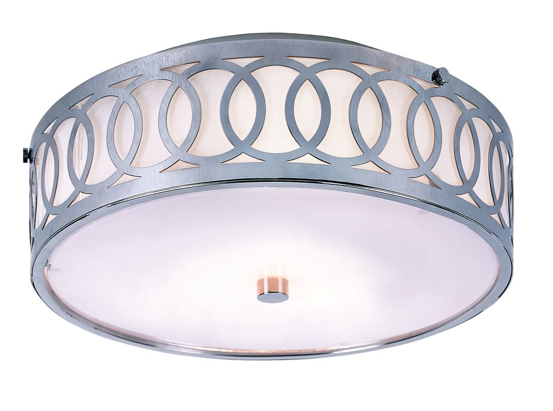 Trans Globe Lighting MDN-901 Modern Three Light Flush Mount Ceiling