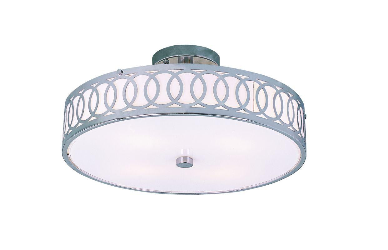Trans Globe Lighting MDN-905 Four Light Semi Flush Ceiling Fixture