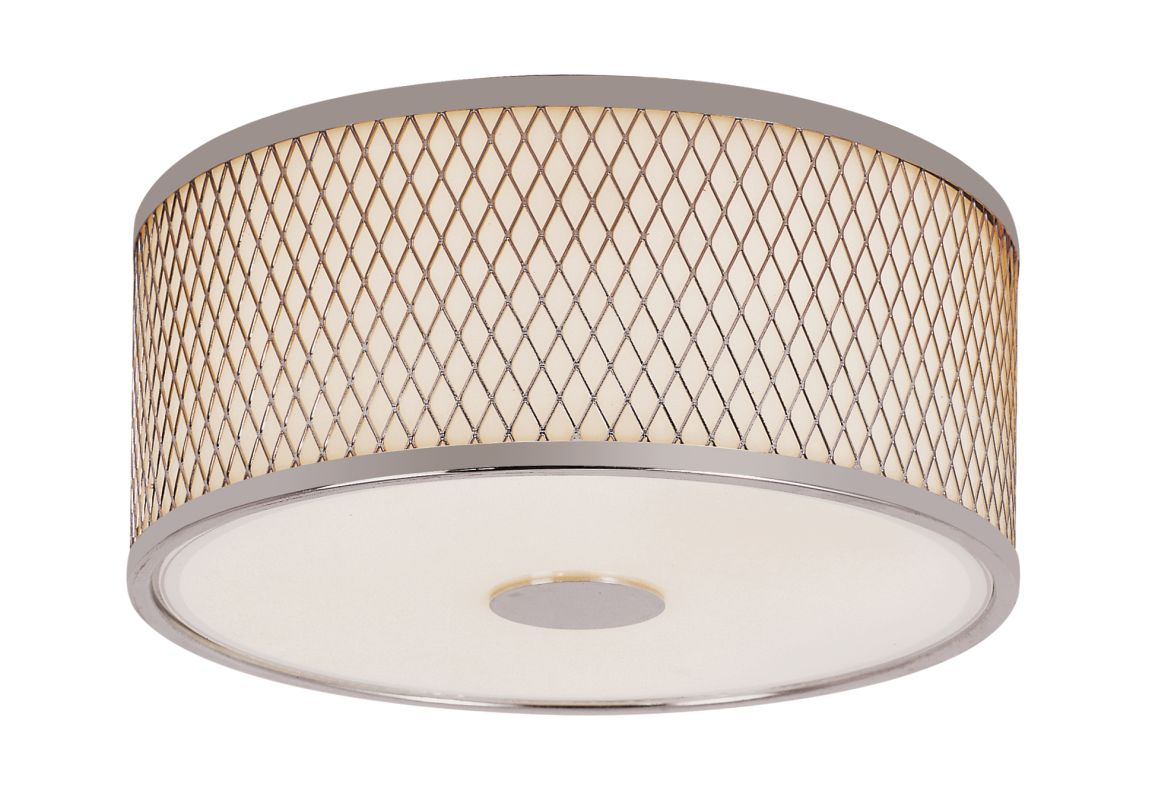 Trans Globe Lighting 10140 2 Light Round Flush Mount Ceiling Fixture