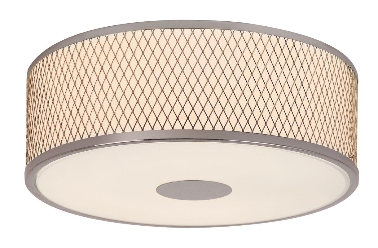 Trans Globe Lighting 10141 3 Light Round Flush Mount Ceiling Fixture