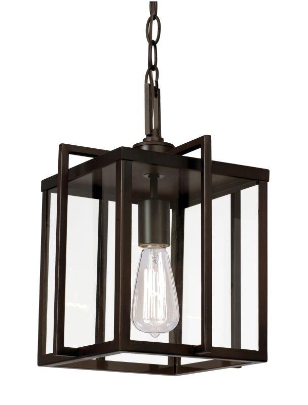 """Trans Globe Lighting 10210 Boxed 10"""" 1 Light Mini Pendant Rubbed Oil"""