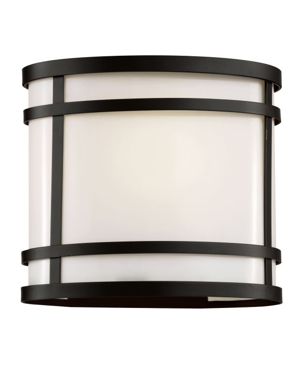 """Trans Globe Lighting 40201 1 Light 8.25"""" Outdoor Wall Sconce with"""