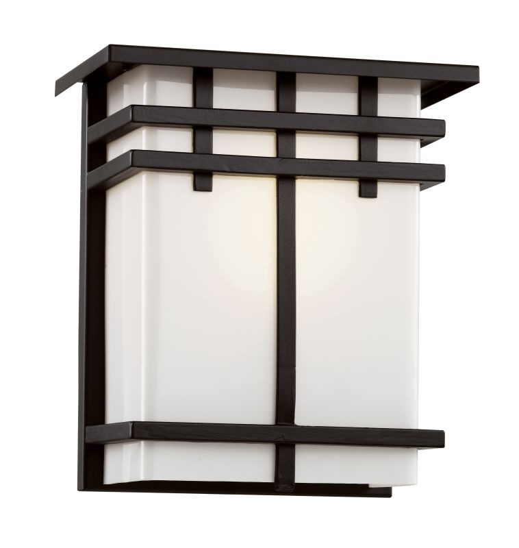 "Trans Globe Lighting 40202 1 Light 8.25"" Outdoor Wall Sconce with"