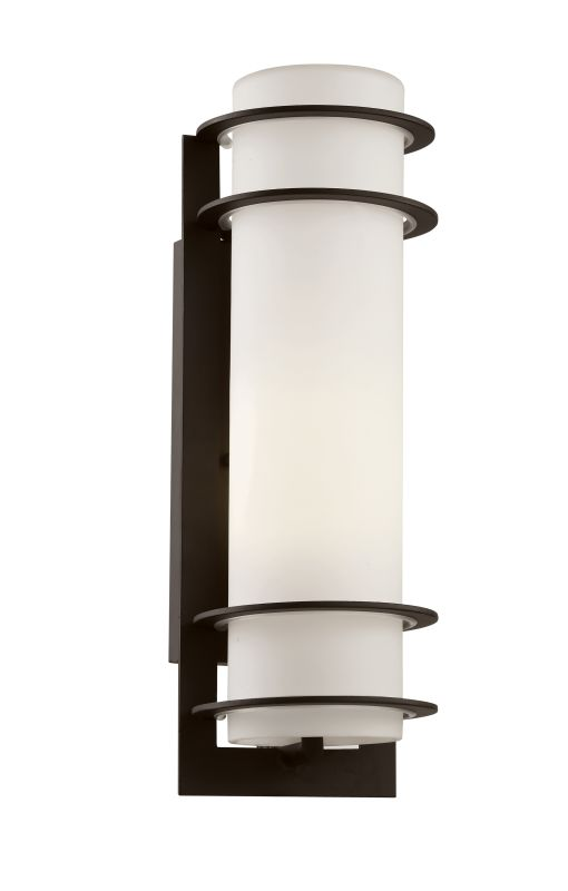 """Trans Globe Lighting 40205 1 Light 16.25"""" Outdoor Wall Sconce with"""