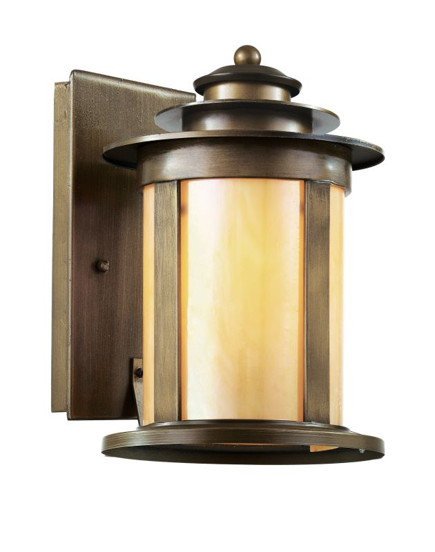 """Trans Globe Lighting 40211 1 Light 13.25"""" Outdoor Wall Sconce with"""