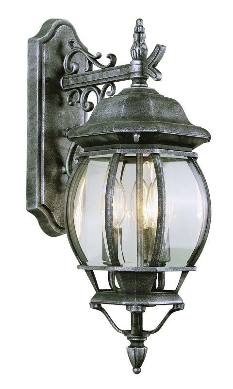 Trans Globe Lighting 4054 Three Light Up Lighting Outdoor Wall Sconce