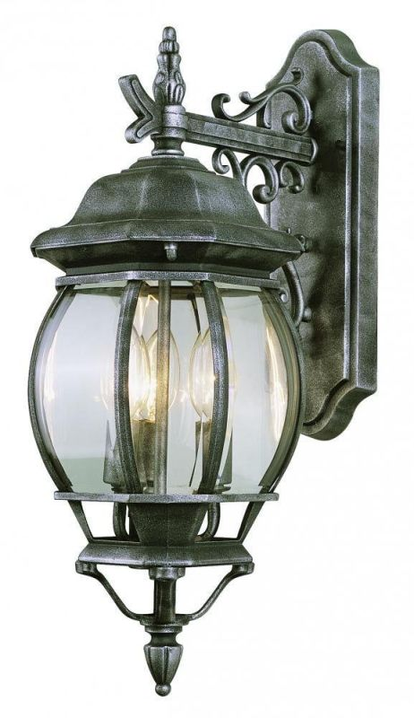 Trans Globe Lighting 4054 Three Light Up Lighting Outdoor Wall Sconce