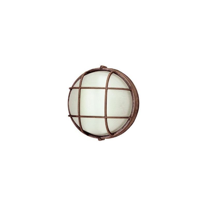 Trans Globe Lighting 41505 Single Light Medium Round Outdoor Bulk Head