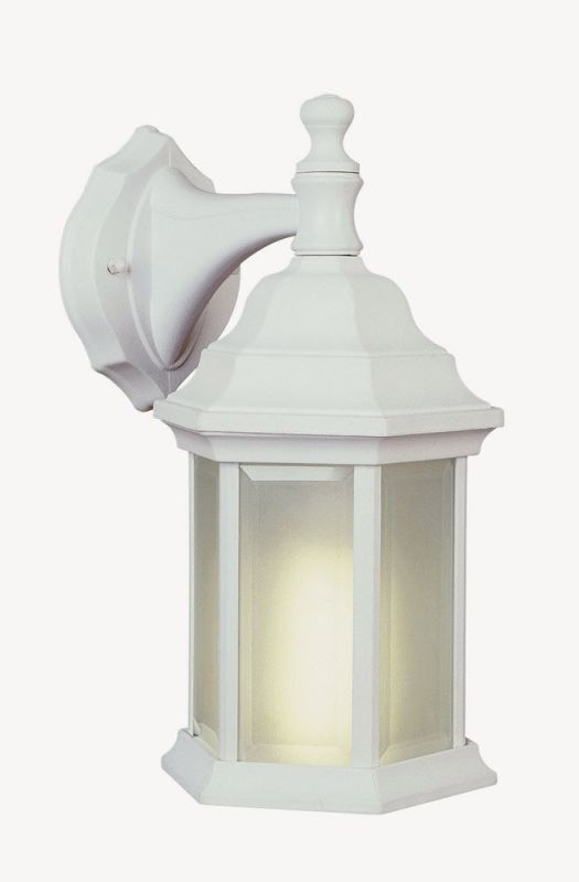 Trans Globe Lighting 4349 Templar 1 Light Lantern Outdoor Wall Sconce