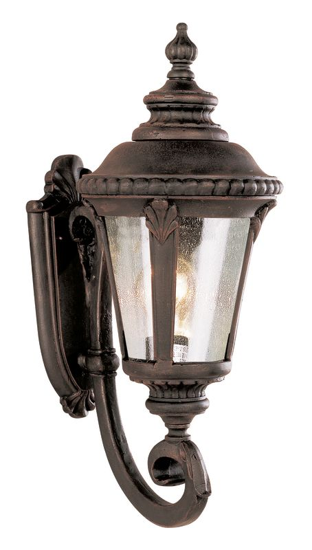 Trans Globe Lighting 5040 Stonebridge 1 Light Lantern Outdoor Wall
