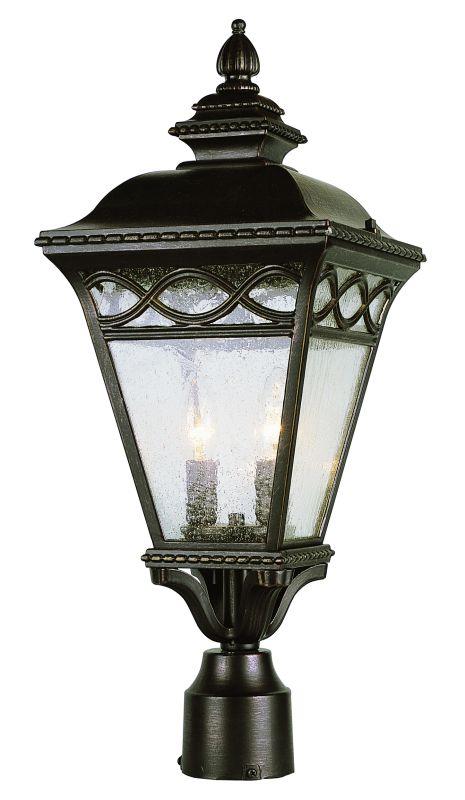 "Trans Globe Lighting 50513 22"" Height 2 Light Outdoor Post Light"