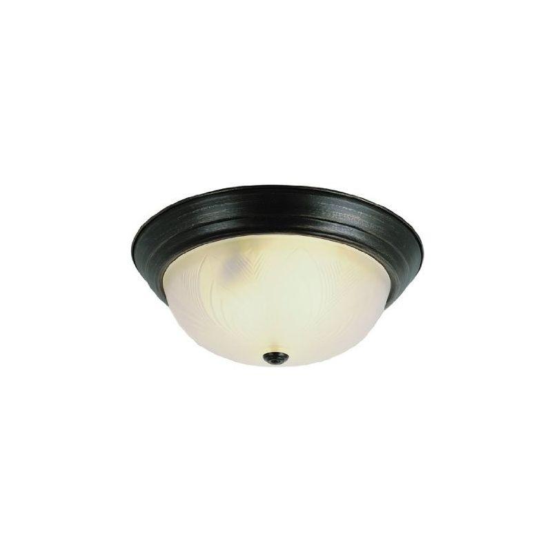 Trans Globe Lighting 58800 Two Light Down Lighting Flush Mount Ceiling