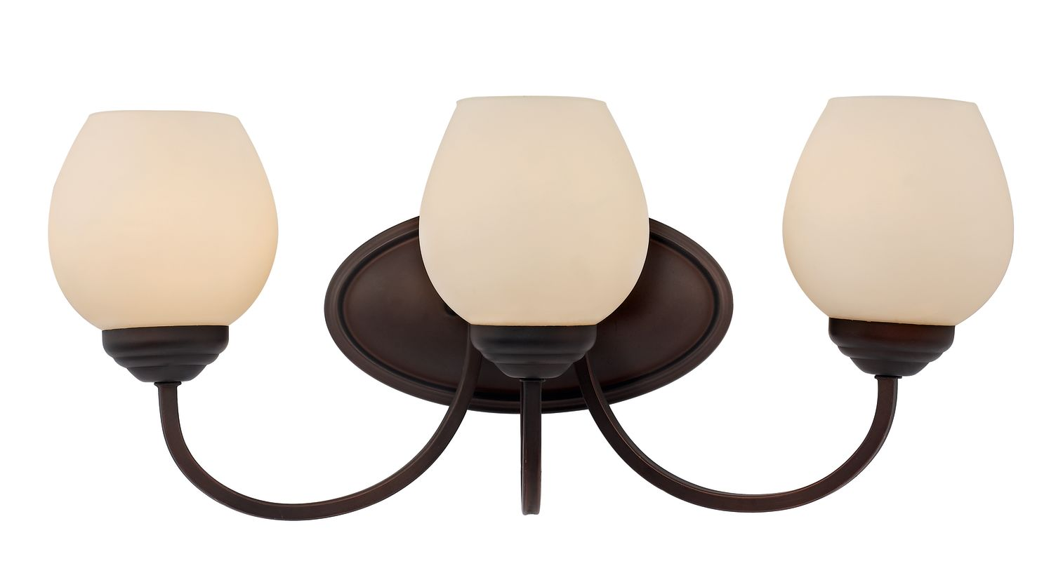 Trans Globe Lighting 70533 Clarissa 3 Light Bathroom Vanity Light