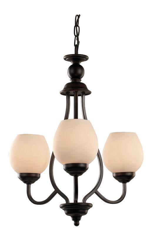 Trans Globe Lighting 70536 Clarissa 3 Light Single Tier Chandelier