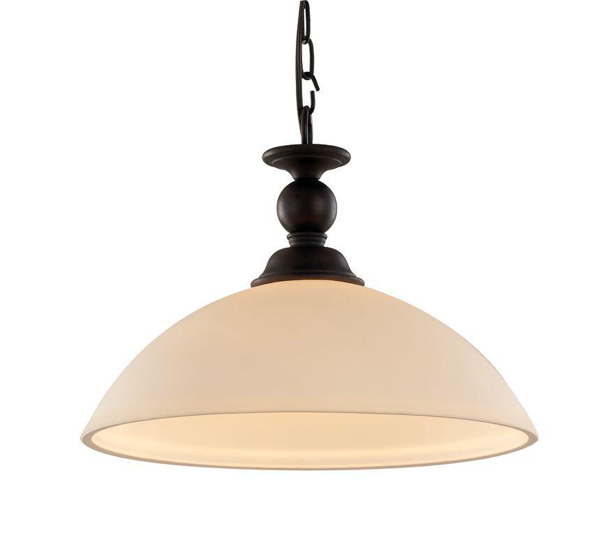 Trans Globe Lighting 70537 Clarissa 1 Light Full Sized Pendant Rubbed