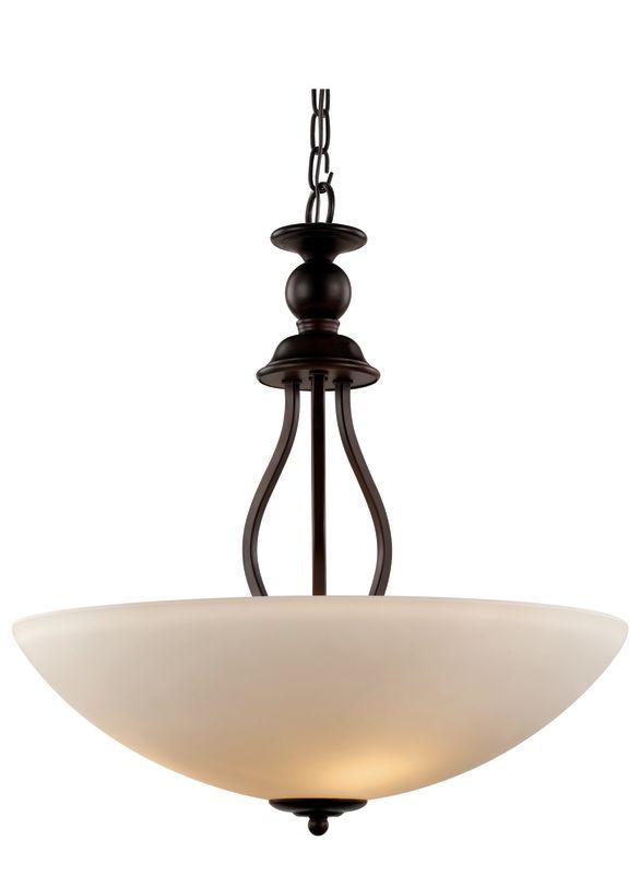 Trans Globe Lighting 70538-20 Clarissa 3 Light Bowl Shaped Pendant
