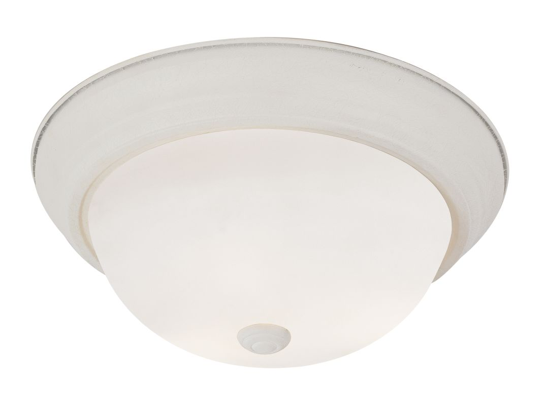 "Trans Globe Lighting PL-13717 2 Light Energy Saving 11"" Flush Mount"