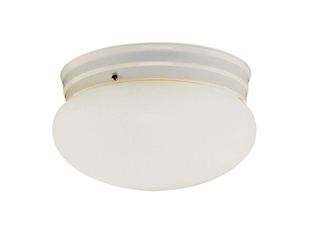 Trans Globe Lighting PL-3620 Mushroom 1 Light Fluorescent Flush Mount