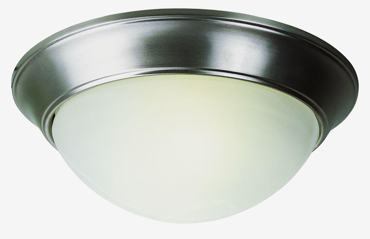 """Trans Globe Lighting PL-57701 14"""" Width 2 Light Fluorescent Flush"""